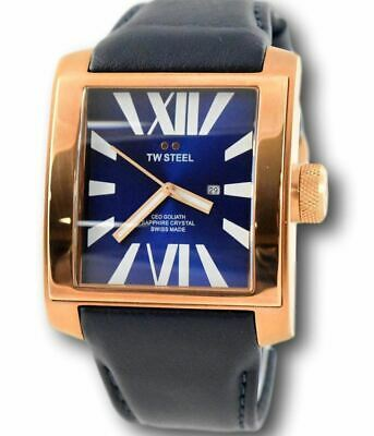 TW Steel CEO Goliath Men's SWISS MADE Rose Gold Sapphire Crystal Watch CE3018