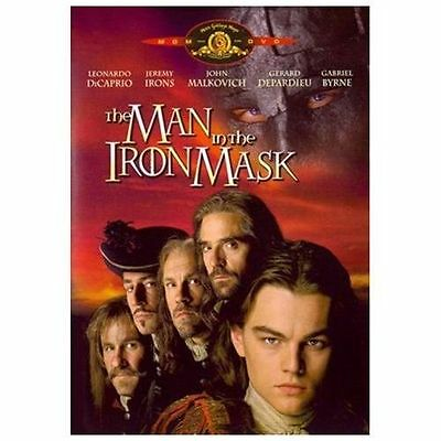 The Man in the Iron Mask (DVD, 1998, Standard and Letterboxed) NEW