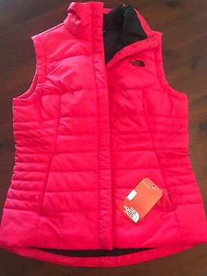 78afaf68b0ba THE NORTH FACE Women s Harway Vest Raspberry Red Size M  89 NWT ...