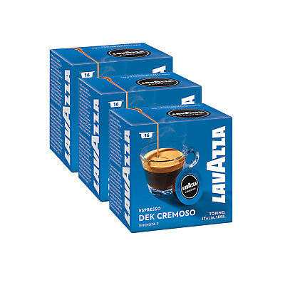 Lavazza A Modo Mio Espresso Dek Cremoso 48 Pods Coffee Machine Capsules, Medium