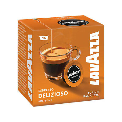 Lavazza Modo Mio Espresso Delizioso 512 Pods for Capsule Coffee Machine, Medium