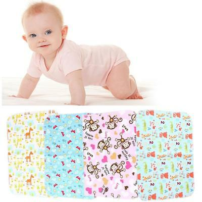 Waterproof Changing Diaper Pad Bamboo Fiber Pad Infant Baby Urine Mat Nappy_Bed!