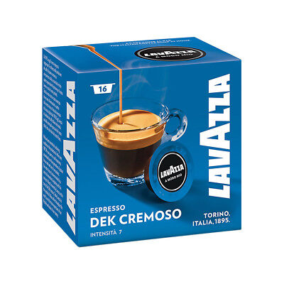Lavazza A Modo Mio Espresso Dek Cremoso 256 Pods Coffee Machine Capsules, Medium