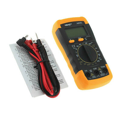 ANENG A830L Digital Multimeter DC AC Voltage Diode Frequency Transistor Test