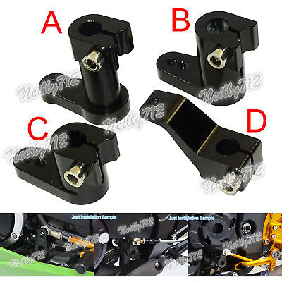 Motorcycle Rearsets Gear Shift Arm Kit Standard and Race Sytle Reverse Shifter
