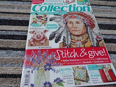 **Cross Stitch Collection Magazine May 2015 issue 248 Native American**