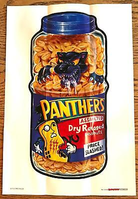 WACKY PACKAGES POSTERS Series 1 (2012)--Poster #13: Panthers Assaulted^