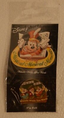 disney's magical musical moments  pin # 46 whistle while you work  NEW