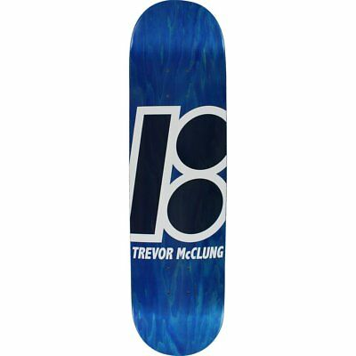 """Plan B Skateboard Deck Trevor McClung Stained 8.125"""" FREE GRIP & POST"""