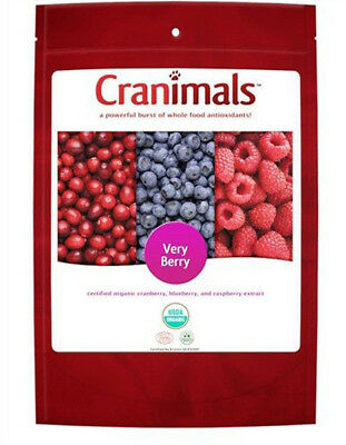 Cranimals Powerful Organic Supplement Very Berry For Dogs & Cats - 4.2 Oz. 120 g