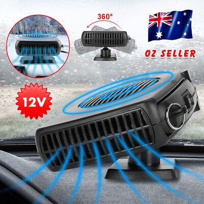 12V Portable Car  Heater Fan Vehicle Ceramic Heating Defroster Demister Tool