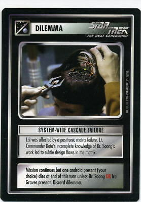Star Trek CCG Q-Continuum, System-Wide Cascade Failure. Mt/Nr-Mt.