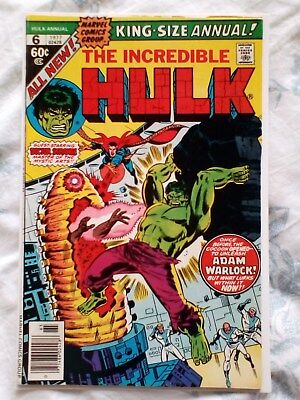 Hulk king size annual 6 1st App Paragon (later is HER, Kismet and Ayesha [6.0]