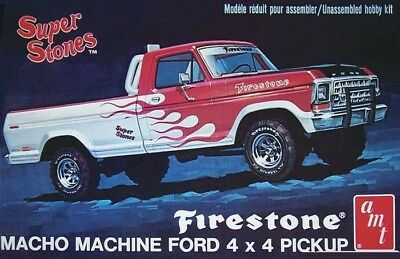 1978 Ford Pickup Truck 1/25 scale skill 2 AMT plastic model kit#858