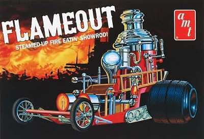 Flameout Steamed-up Fire Eatin' Showrod 1/25 scale skill 2 AMT model kit#934
