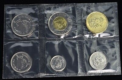 2015 Canada Uncirculated Mint Coin Set - 6 Coins