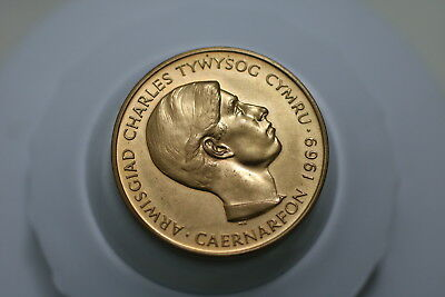 Uk Gb 1969 Prince Of Wales 1969 Investiture A74  #k1706