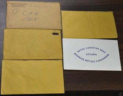 1968-1972 Canada Mint Sets - 5 Sets 1 Of Each Year