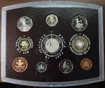 2000 United Kingdom Proof Coin Set