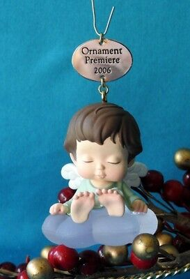 Hallmark Ornament 2006 Mary's Angels Angelica Repainted Limited Quantity