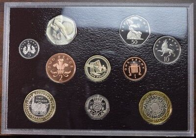2004 United Kingdom Proof Coin Set - Celebrating Human Achievement