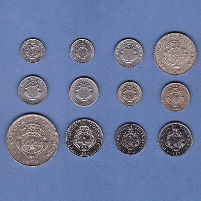 Costa Rica - Coin Collection Lot # R-6 - World/Foreign