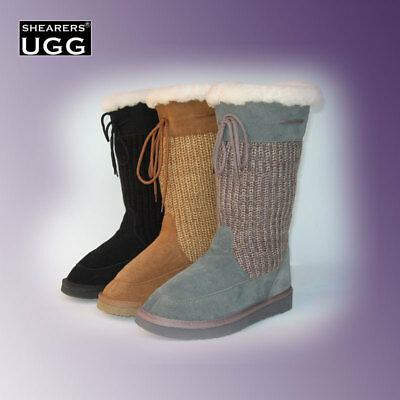 Australia SHEARERS UGG Boots Cardy Long Tall Boots Wool Insole - CLEARANCE SALE