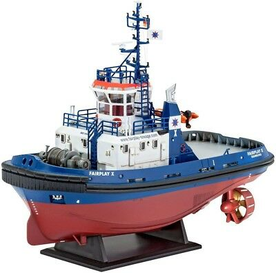 "Harbour Tug Boat ""Fairplay I, III, X, XIV"" 1/44 scale skill 3 Revell model#5213"