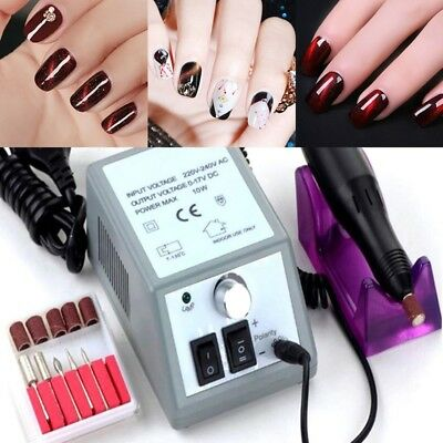 Professional Electric Nail Drill Manicure Tool Pedicure Machine Set Kit New
