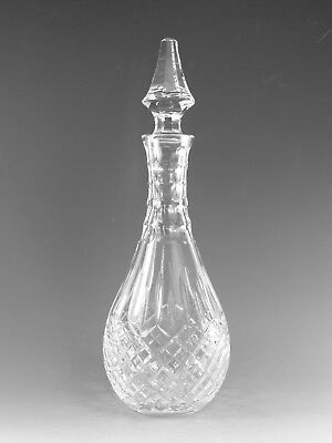 "STUART Crystal - SHAFTESBURY Cut - Wine Decanter / Decanters - 13 1/2"" (1st)"