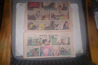 Mary Worth 26 Sundays 1954-70 ERNST & SAUNDERS