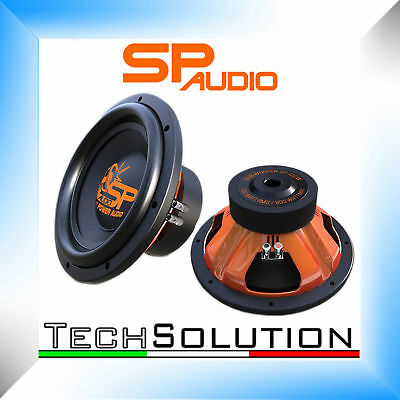 Sp Audio Sp12Cw Subwoofer 30Cm 900 Watt Max Doppia Bobina 2 Ohm