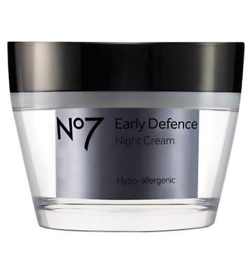 No7 Early Defence Night Cream - Pack of 2