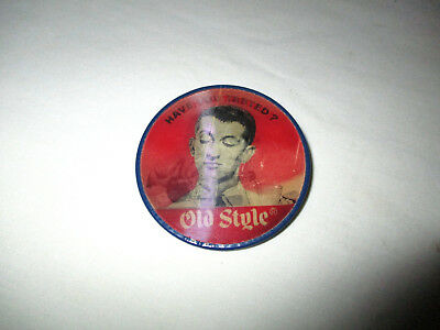 "1960's Old Style Beer Vari-Vue Advertising Button - 2.5"" Heileman La Crosse WI"