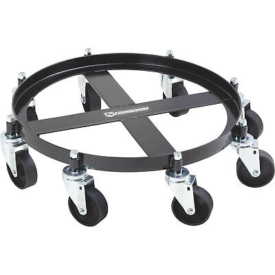 Strongway 8-Caster Drum Dolly - 55-Gallon, 2000-Lb. Capacity