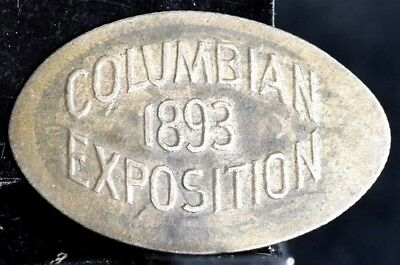 1877-CC Rolled Out Seated Dime - 1893 Columbian Exposition