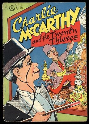 Four Color (1942) #171 1st Print Charlie McCarthy & The Twenty Thieves [#1] Poor
