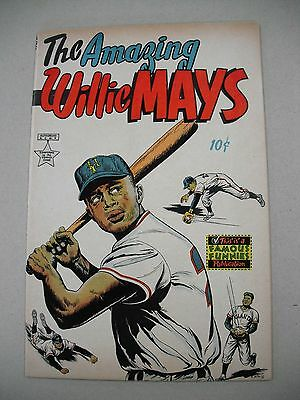"""the Amazing Willie Mays"" 9/54 Vfn- Rare One-Shot & Review Copy!"