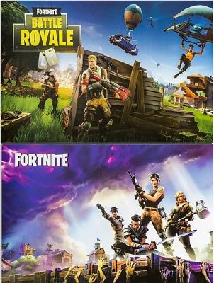 Fortnite Fan Art Set Of 2 Posters