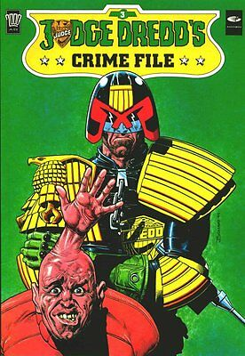 2000AD ft JUDGE DREDD - JUDGE DREDD'S CRIME FILE - Vol 3 - VGC - 2000AD
