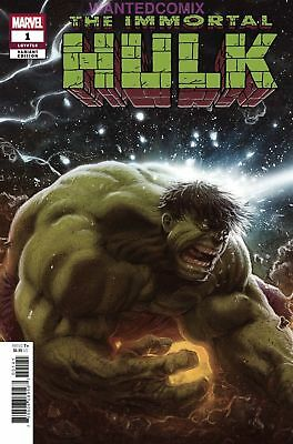Immortal Hulk #1 Connecting Party Variant Cover Kaare Andrews Bruce Banner New