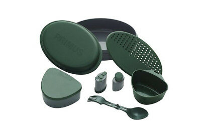 Primus Meal Set Grün Campinggeschirr Outdoorgeschirr Besteck Camping Outdoor NEU