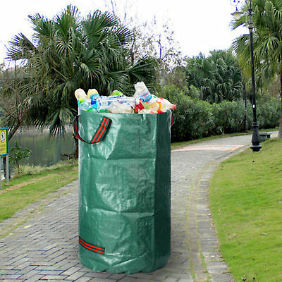 120L / 32 Garden Waste Bags Heavy Duty Large Strong Rubbish Rubbish Sacks Green