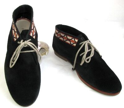 KOAH Shoes shoelace leather suede navy blue 39 VERY GOOD CONDITION