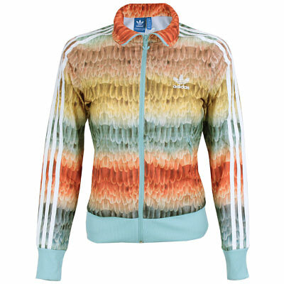 adidas Damen Jacke Originals Menire Firebird Track Top multicolor NEU