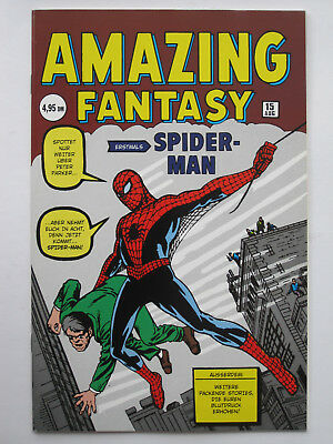 AMAZING SPIDERMAN # 1-38 + AMAZING FANTASY # 15 + KSA #1+2 cplt Steve Ditko set