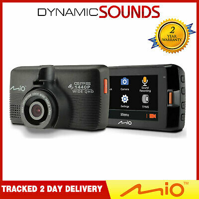 Mio Mivue 751 Car Dash Cam DVR with GPS & Speed Camera 2.5K QHD Video Recording