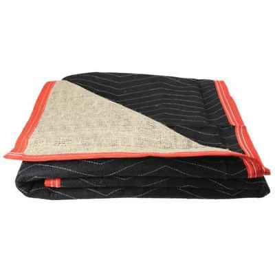 Moving Blankets- Burlap Moving Pads- 12-Pack