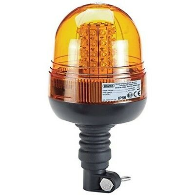 Draper 63882 12/24 V Spigot Flexible LED Beacon - Base 1224