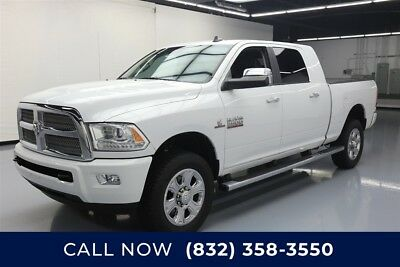 Ram 2500 Longhorn Limited Texas Direct Auto 2015 Longhorn Limited Used Turbo 6.7L I6 24V Automatic 4WD